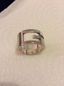 Men's Sterling Size Gucci 'G' Ring