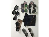 Brand new sunglasses- Dior , Hugo Boss , Police , Ray Ban