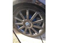 "4x108 17"" ST alloy wheels for SWAPS"