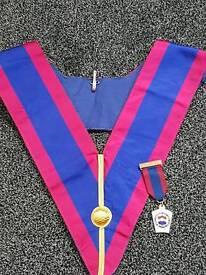 Masonic collar & medal