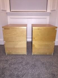 Malm bedside table(s)