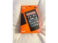 BRAND NEW SEALED WITH WARRANTY, AMAZON FIRE 7 TABLET, BLACK £40 NO OFFERS CAN DELIVER