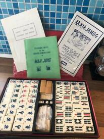Vintage mah Jongg set