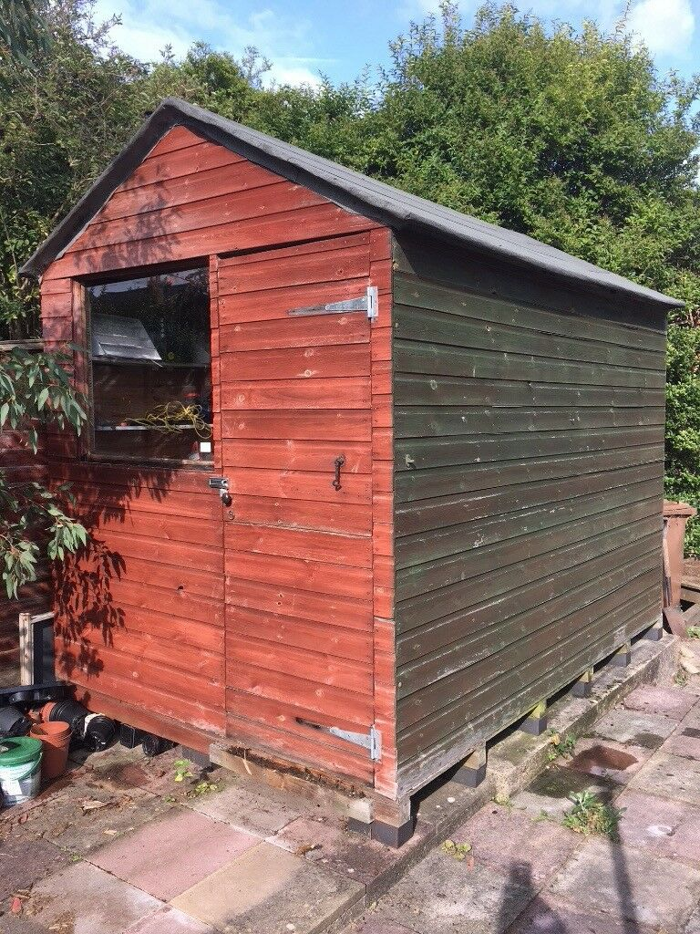 large garden shed vgc
