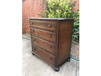 Priory Furniture vintage chest of drawers, bargain free delivery
