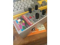 Alexander Pedals Syntax Error Guitar Effects Pedal does Ring Mod Glitch Computer Delay Freq