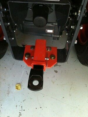 Fixed Draw Bar Receiver Hitch For Kubota Bx Series Sub Compact Free Shipping