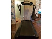 York fitness Electric treadmill all working and folds away nicely