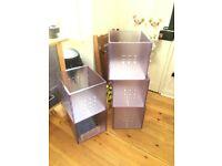 Ikea Lekman storage boxes