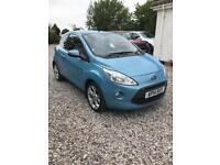 Blue 2014 Ford ka titanium 1.2L,3Dr, low millage, full ford service history, one owner