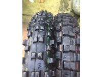 19 AND 16 INCH MOTOCROSS TIRES
