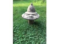 Mr Fireman Mushroom Garden Ornament