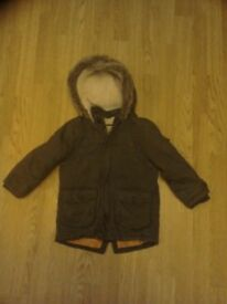 Rocha little Rocha Parker coat, in good condition, age 3 to 4 years