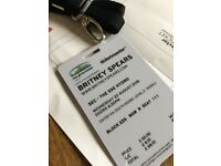 BRITNEY TICKETS FOR SALE 22 AUGUST AT HYDRO