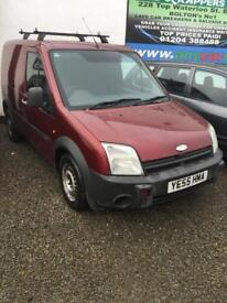 FORD TRANSIT CONECT 1.8DIESEL MOT ROOF BARS SIDE DOOR £995 Ono