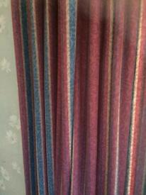 Lined curtains, good condition