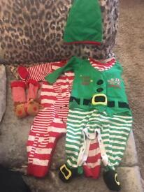 Christmas baby grows 3-6mths