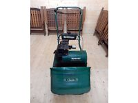 Qualcast Classic Petrol Scarifier with Grass Collection Box