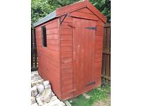 garden shed 6x4,good condition