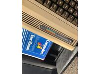 Commodore 64 computer With tape and software