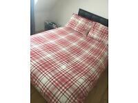 Double Divan Bed like new