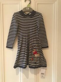 Brand new with tags gorgeous dress , age 12-18 mnths