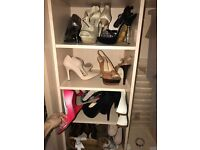 Selection women's heels size 4 £100 job lot