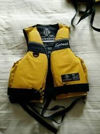 Children's lifejacket. SPLASH CREWSAVER 50N buoyancy aid.
