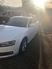 White Audi A5 2.0