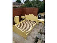 Real Wood Double Bed sweet