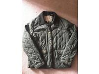 JACK WILLLS size 12 green jacket.