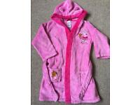 Peppa Pig Dressing Gown 2-3 Years