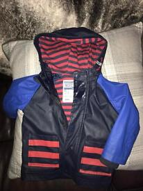 Next lined raincoat boys 12-18 months