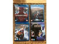 Blu ray marvel dvd films.