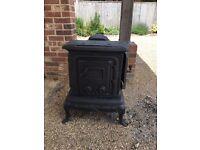 Log burner ideal for garden or shed