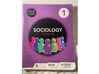 Sociology OCR A Level textbook
