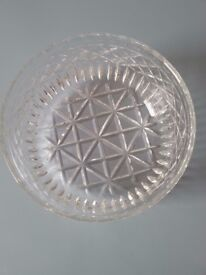 Beautiful Large Crystal Bowl in very good condition