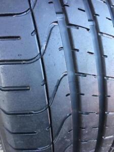 245/50/18    275/45/18  ZR   Pirelli Pzero staggered 8-10/32