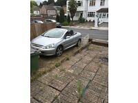 Peugeot 307cc convertible in silver may swap or px