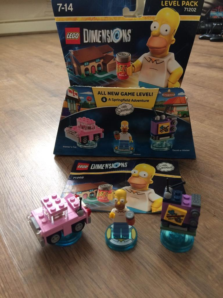 Simpsons level pack Lego Dimensions figures PS4 Wii U  : 86 from www.gumtree.com size 768 x 1024 jpeg 102kB