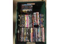 52 Assorted DVDs