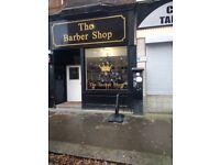 Newly Refurbished Barber Shop Business For Sale
