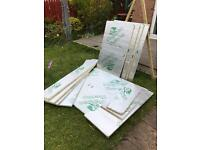 Kingspan cut boards