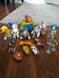 Knights and goblin toys
