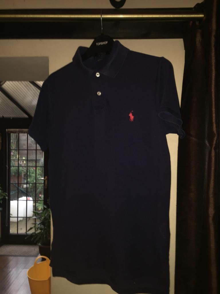 Navy blue Ralph Lauren polo