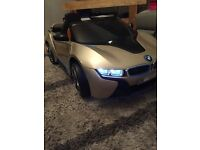 Kids ride on car BMW i8 12v electric comes complete with charger