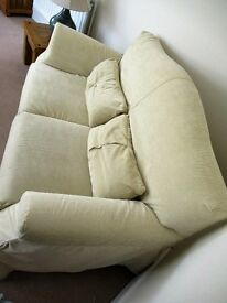 Two settees for sale, one three seater and one two seater.