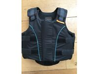 Airowear child's equestrian body protector size Y3 short