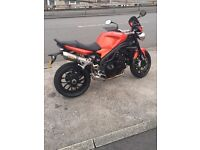 TRIUMPH SPEED TRIPLE 1050 2010