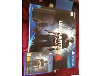 Brand new in box Uncharted 4 A thirds end
